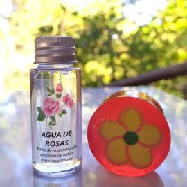agua de rosas-+-jabón